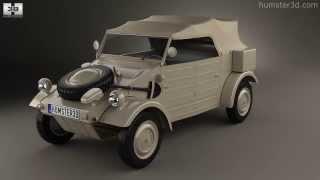 Volkswagen Kubelwagen 1945 by 3D model store Humster3D.com