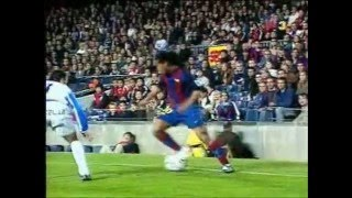 Ronaldinho in Spiellaune