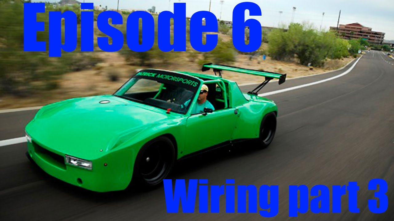 Project 914 Episode 6 Wiring Harness Part 3 Collecting Connectors Porsche Engine