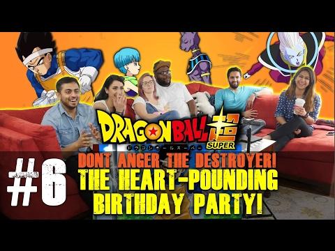 Dragon Ball Super ENGLISH DUB - Episode 6 - GROUP REACTION