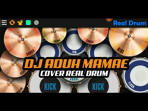 dj-viral-tik-tok-!-aduh-mamae-|-cover-real-drum