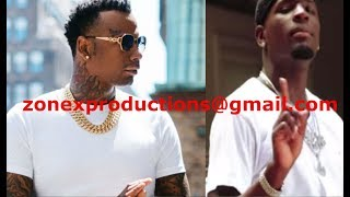 "Moneybagg Yo PULLS up in Atlanta lookin for Gucci mane Artist Ralo""Gang sh1t"""