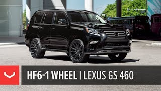 Vossen Hybrid Forged HF6-1 Wheel | Lexus GX 460