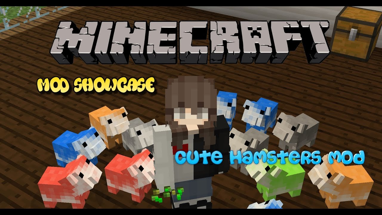 minecraft mod showcase cute hamsters mod youtube