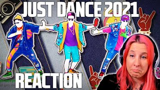GIRLS LIKE - Tinie Tempah ft. Zara Larsson - JUST DANCE 2021 REACTION!