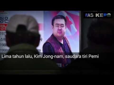 Pesan terakhir Kim jong nam kepada Kim jong un