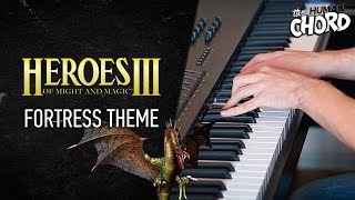 Heroes of Might and Magic III - Fortress Theme (Piano cover + Sheet music)