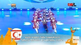 Kuzey Kıbrıs Türk Cumhuriyeti - 23 Nisan 2017 Çocuk Şenliği Gösterisi - Nevşehir - TRT Avaz