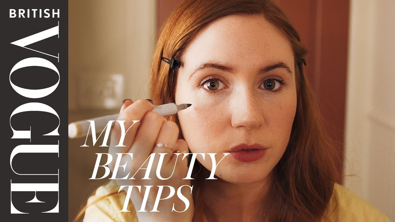 Karen Elson's Guide To Working-From-Home Makeup | My Beauty Tips | British Vogue