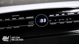whirlpool cabrio top loading washer wtw8000dwh overview