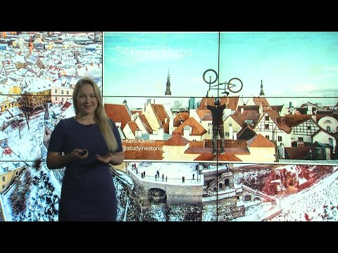 "Presentation: ""Scholarships in Estonia"""
