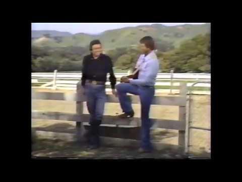 Glen Campbell & Johnny Cash Sing Cowboy Medley