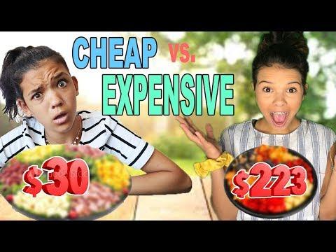 CHEAP vs. EXPENSIVE!