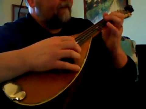 "Mandolin mandolin tabs greensleeves : Greensleeves"" on vintage John Brandt Bowlback Mandolin. - YouTube"