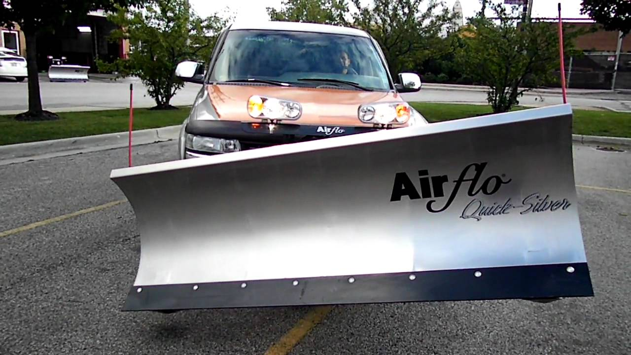 Snow Plow Air Intake : Air flo snow plow youtube