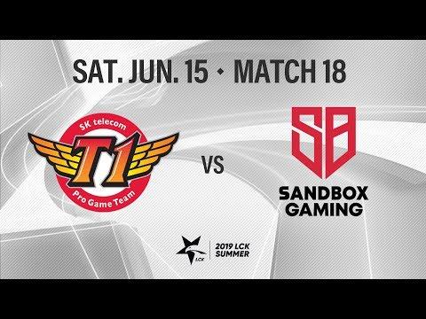 SKT vs 샌드박스 | Match18 H/L 06.15 | 2019 LCK 서머