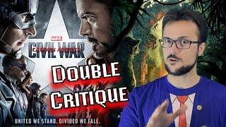 CIVIL WAR & Le Livre de la Jungle - Double Critique par Benzaie #NoSpoiler