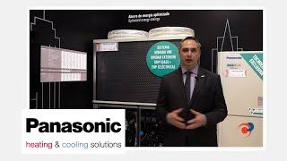 PANASONIC - Novedades en HVAC&R durante la Feria Climatización y Refrigeración 2019
