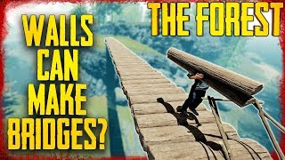 HOW TO MAKE A BRIDGE WITH WALLS | The Forest