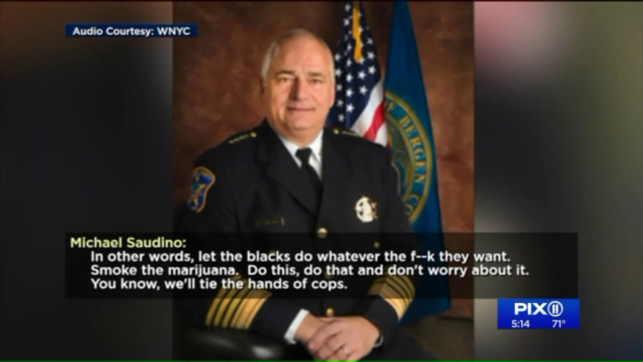 Bergen County sheriff Michael Saudino resigns after racist comments caught  on tape