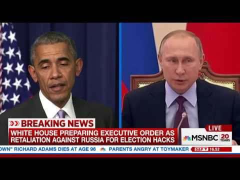 the White House's preparation of an executive order as retaliation against Russia....