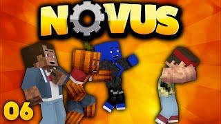 FALLENBAU & REWIS GRUNDSTÜCK FLIEGT HOCH! - Minecraft NOVUS #6 | DieBuddiesZocken