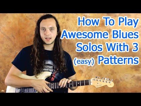 Blues Guitar Solo Heatmap [with PDF download]