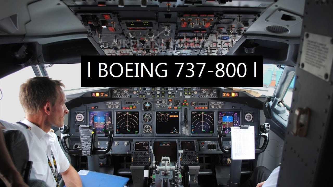 Pousos E Decolagens Ll Cockpit Boeing 737 800 Youtube