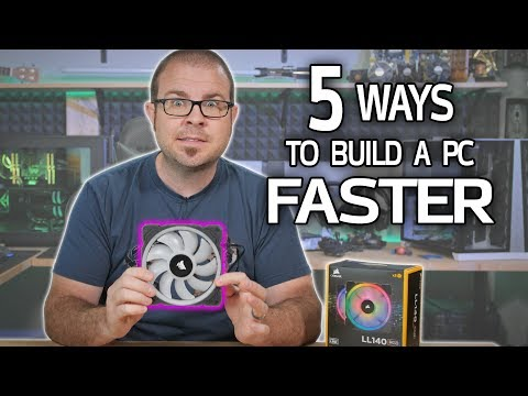 5 Ways to Build a Gaming PC FASTER!