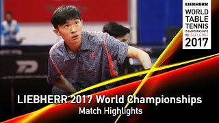 2017 World Championships Highlights | Poh Shao Feng Ethan vs Leong Chee Feng (Pre)