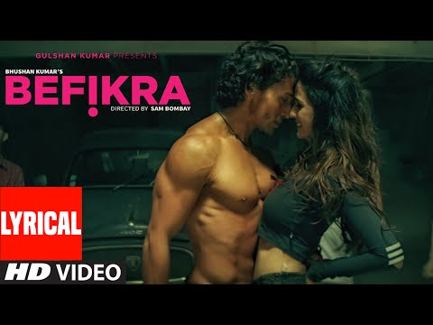 Thumbnail: Befikra FULL SONG with Lyrics | Tiger Shroff, Disha Patani | Meet Bros ADT | Sam Bombay