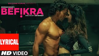 Befikra FULL SONG with Lyrics | Tiger Shroff, Disha Patani | Meet Bros ADT | Sam Bombay