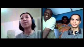 Bhardwaj and Nsanzimana Skype