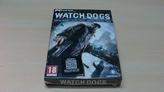 Watch Dogs Special Edition Game Unboxing (INDIA)