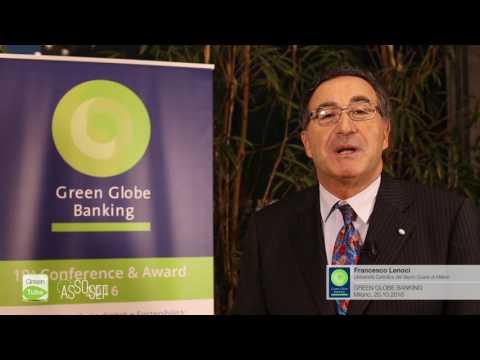 Intervista a Francesco Lenoci | X Edizione Green Globe Banking Conference & Award