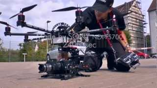 Sony FS700 Aerial Ocotcopter Photography