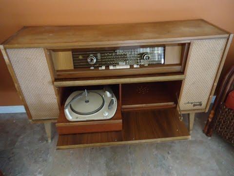 Telefunken Salzburg Hi-Fi stereo 5094 Wk Consol/Radio/Phono