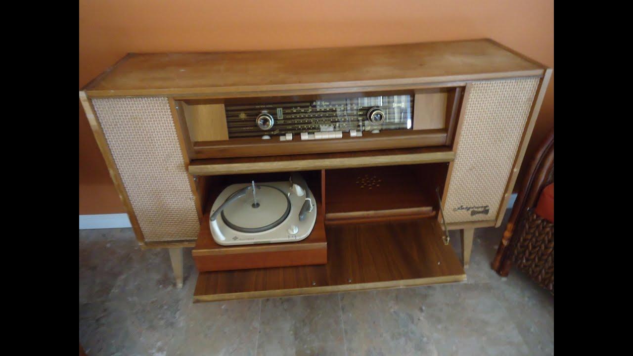 Telefunken Salzburg HiFi stereo 5094 Wk ConsolRadio
