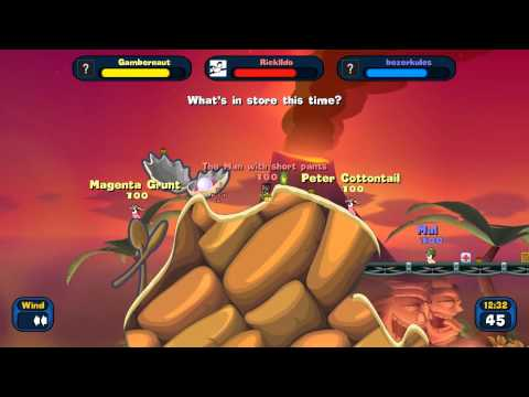 Today I Played Worms Reloaded 07 21 12 Feat  Ricklldo Gambernaut GAME 3 PART 1 READY FOR UPLOAD 00 00 |