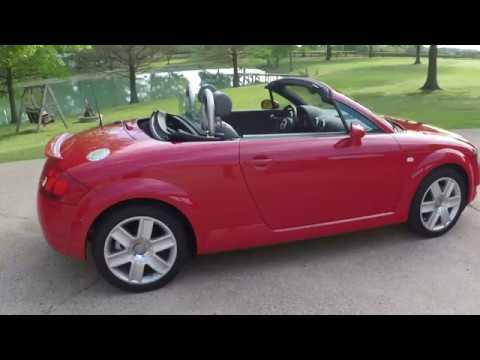 west tn 2006 audi tt quattro roadster mt6 convertible red for sale info www sunsetmotors com. Black Bedroom Furniture Sets. Home Design Ideas