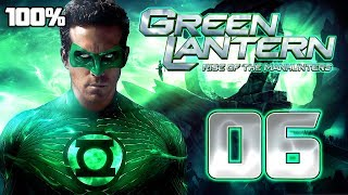 Green Lantern: Rise of the Manhunters Walkthrough Part 6 (PS3, X360, Wii) 100% Mission 6