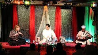 Santoor- Flute/Bansuri -Tabla  Trio,   Raag Bageshri (Part Two)