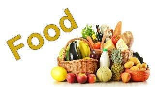Еда по-английски. Урок из серии английский для начинающих.