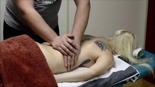 ASMR German Massage Tutorial Rücken