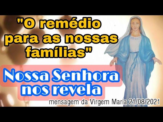 Messaggio della Madonna a Fratel Eduardo Ferreira il 21 agosto 2021 a São José dos Pinhais/PR/BR