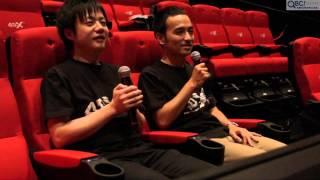 体感型アトラクション4DX™にお笑いコンビ「かもめんたる」が初挑戦!(QBC)