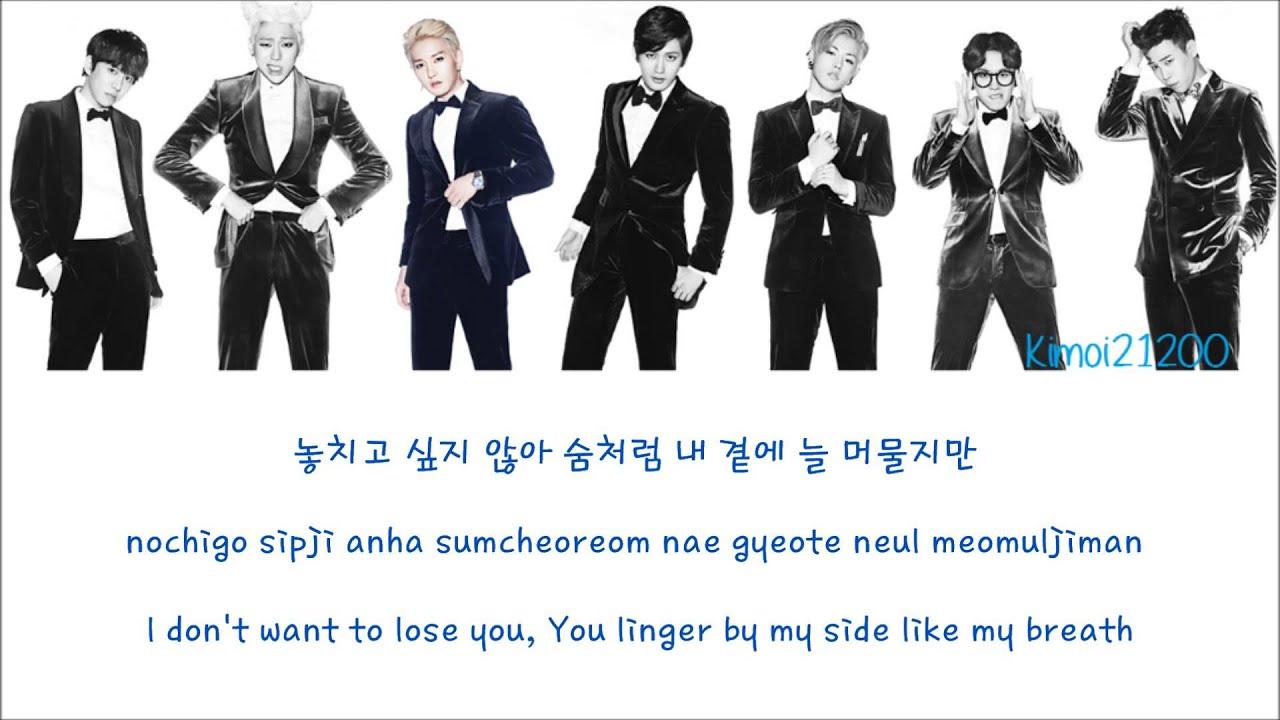 Block B - Be The Light [Hangul/Romanization/English] Color & Picture Coded HD