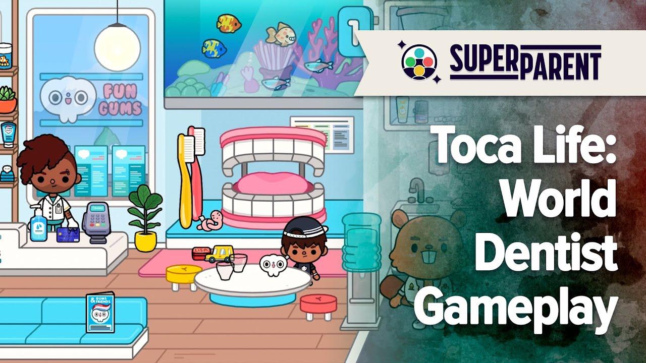 Toca Life: World Dentist Gameplay