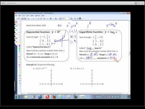 Math 1210 Sec. Review - Part 3