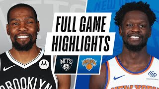 NETS at KNICKS | FULL GAME HIGHLIGHTS | January 13, 2021